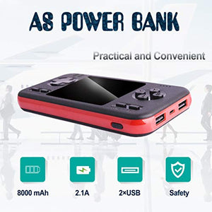 Handheld Game Console with Powerbank