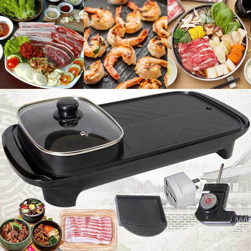 Rectangle Korean Grill and Hotpot