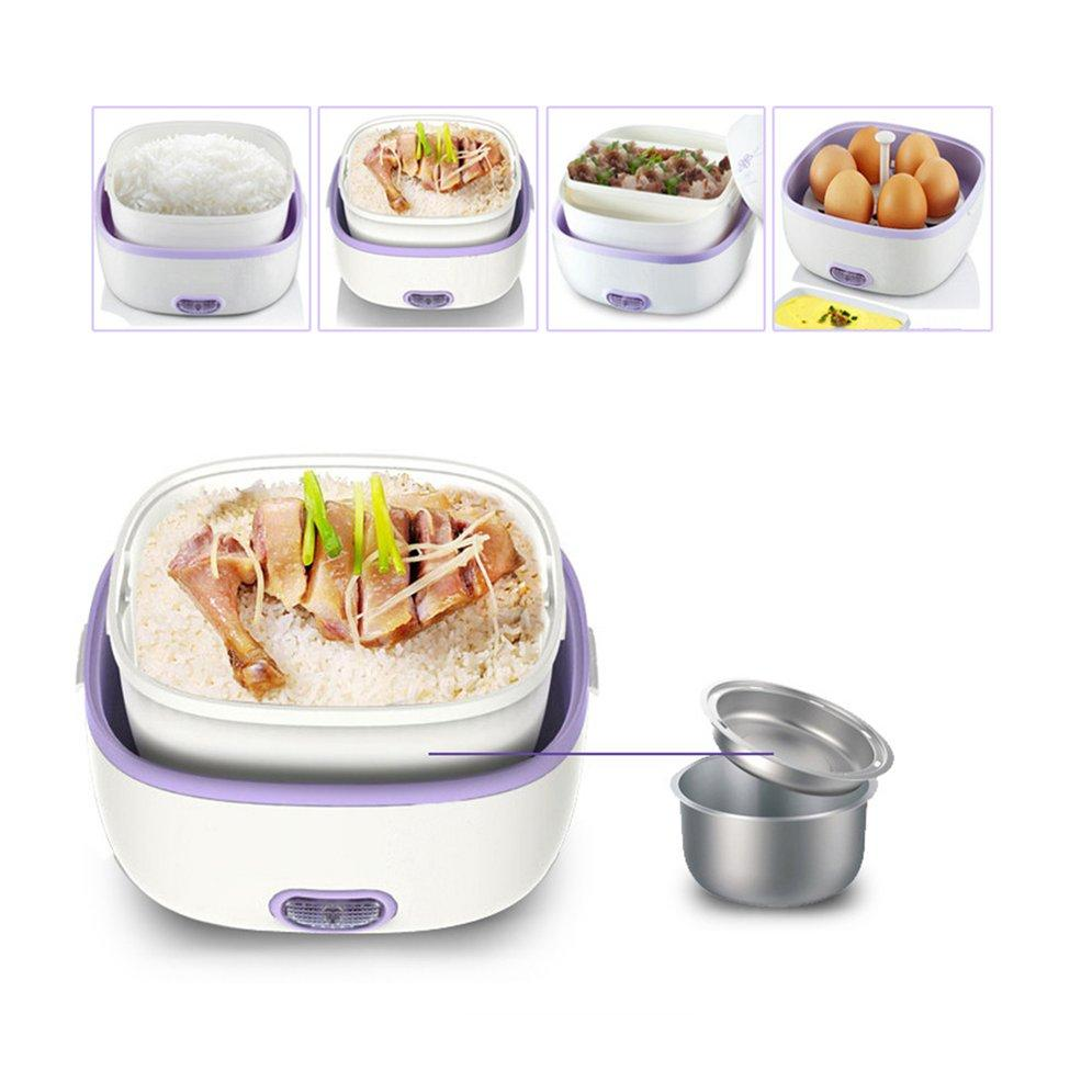 Multifunctional Portable Electric Mini Lunch Box Cooker
