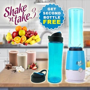 SHAKE N TAKE 3™ 16oz Portable Blender and Premium Tumbler