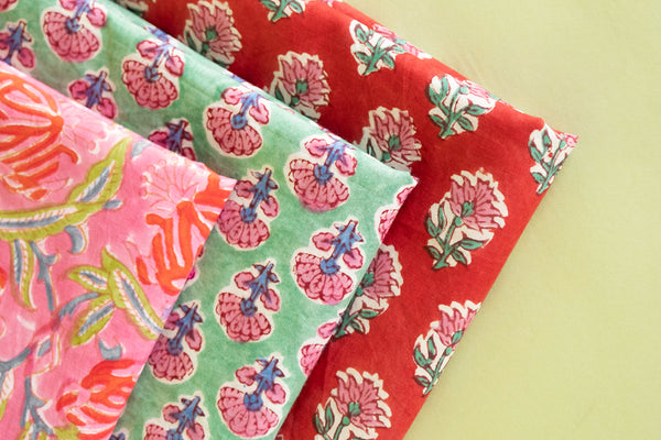 Learn About Our Organic Cotton Block Prints
