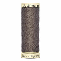 Gütermann  Sew-All Thread - #586 Dark Taupe 2