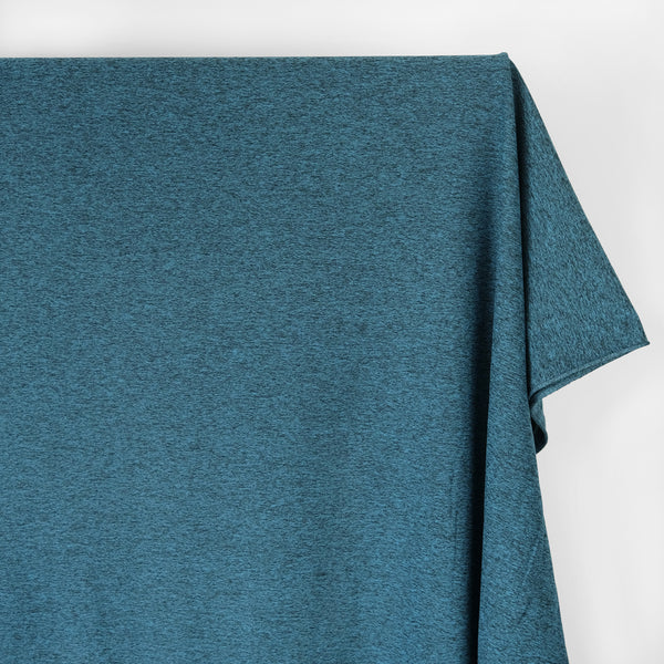 Heathered Athletic Knit - Teal