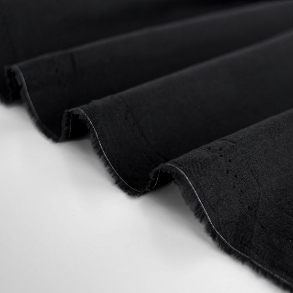 Lightweight Cotton Voile - Black