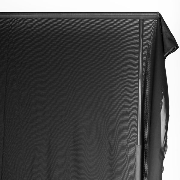 Firm Power Mesh Lining - Black | Blackbird Fabrics