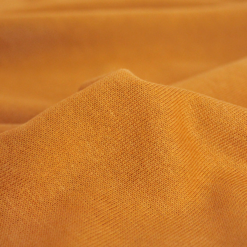 Bamboo & Cotton Sweatshirt Fleece - Turmeric