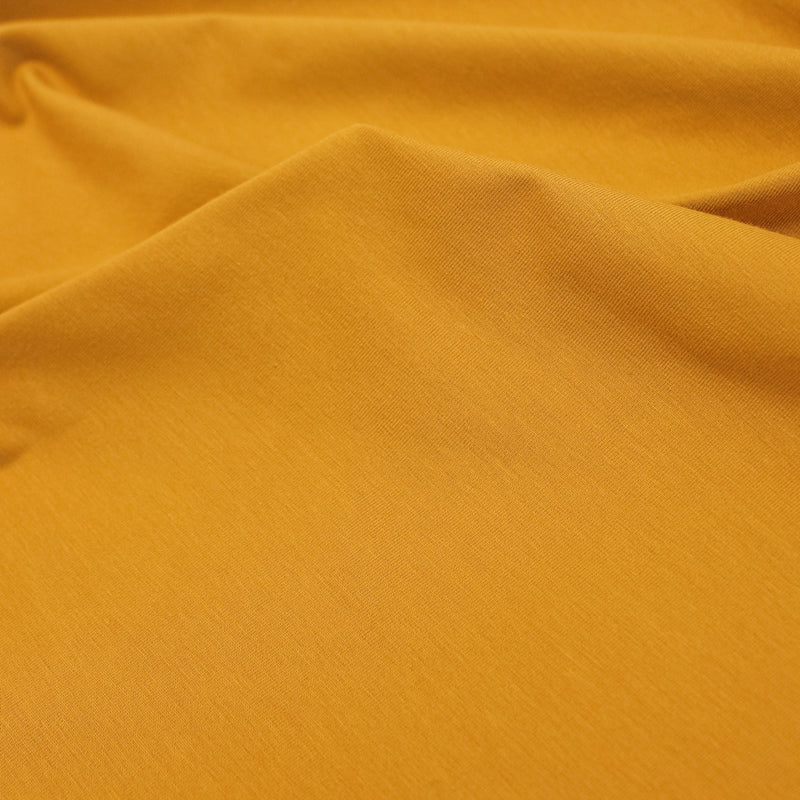 Cotton Jersey Knit - Goldenrod