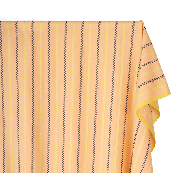 Matinee Warp & Weft Woven Cotton - Light Peach/Multi