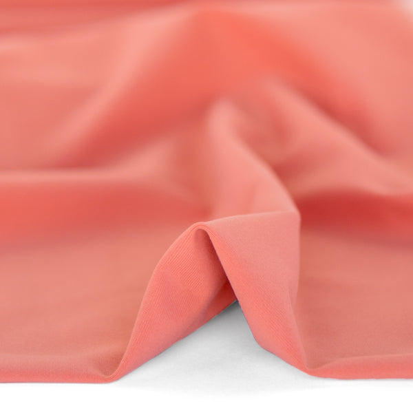 Recycled Nylon Athletic Knit - Peach | Blackbird Fabrics