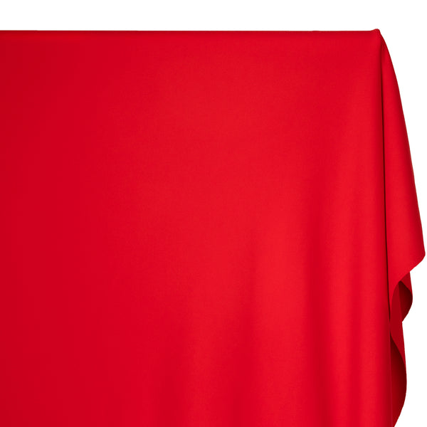 Recycled Nylon Athletic Knit - Fire Red | Blackbird Fabrics