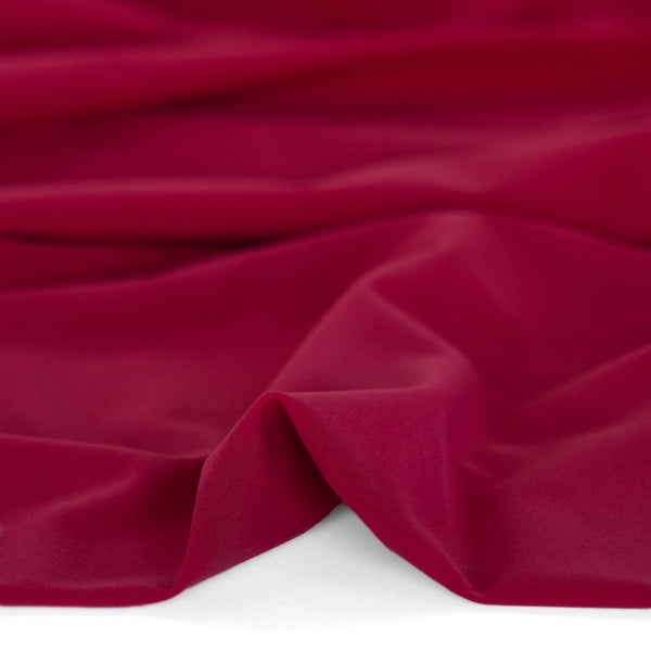 Recycled Nylon Athletic Knit - Cranberry | Blackbird Fabrics