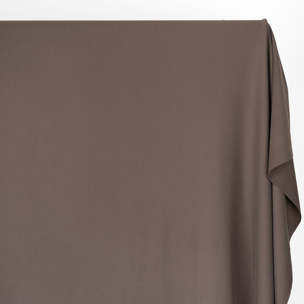 Recycled Nylon Athletic Knit - Taupe Brown | Blackbird Fabrics