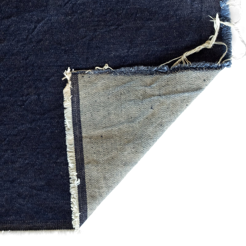 12oz Non-Stretch Denim - Vintage Indigo | Blackbird Fabrics