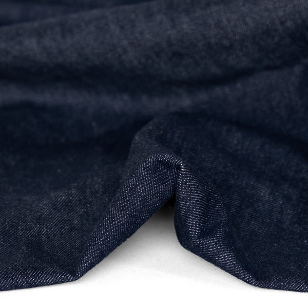 12oz Classic Non-Stretch Denim - Indigo | Blackbird Fabrics