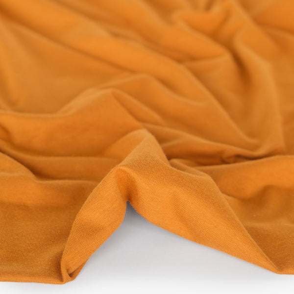 Cotton Modal Jersey Knit - Marigold
