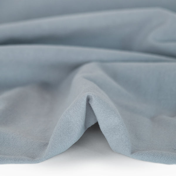 4.5oz Sandwashed Cotton - Powder Blue