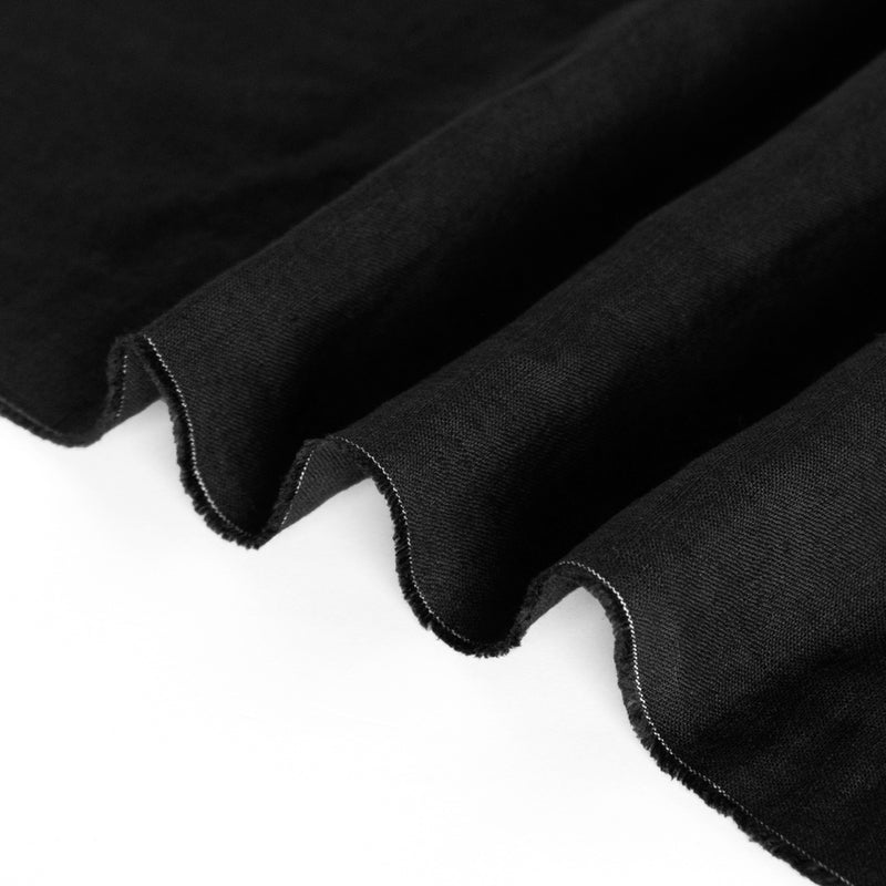 6oz Signature Linen - Black