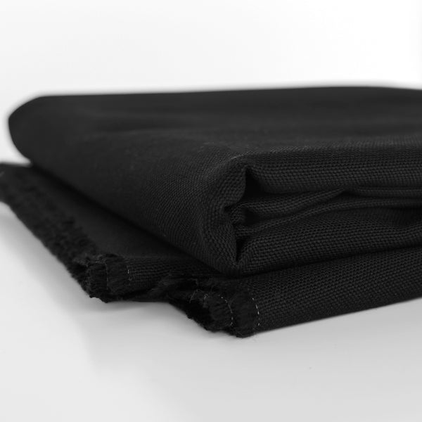 10oz Organic Cotton Duck Canvas - Black
