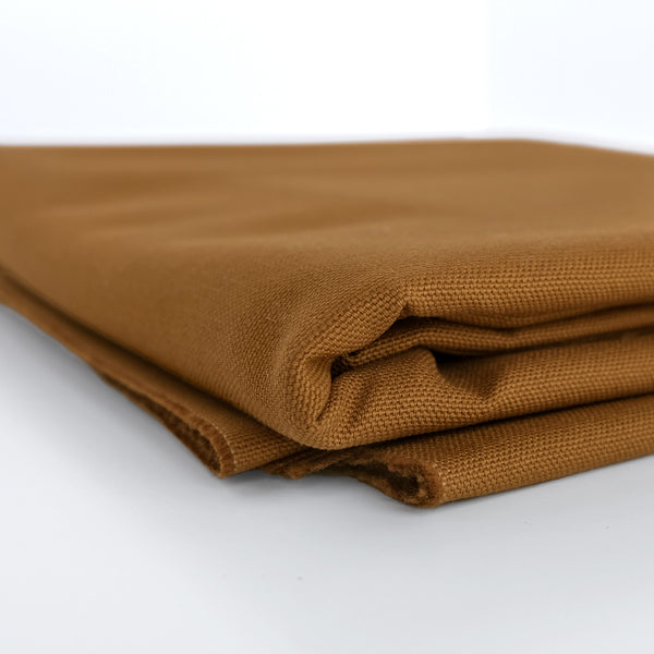 10oz Organic Cotton Duck Canvas - Teak