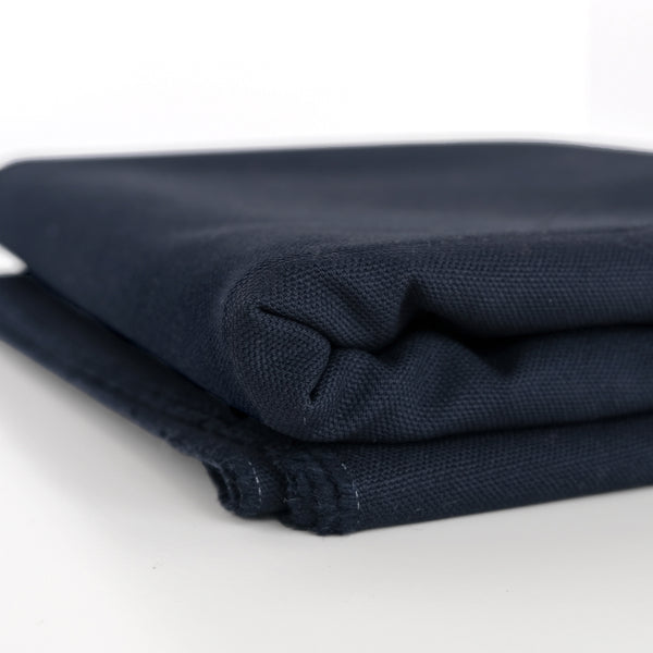 10oz Organic Cotton Duck Canvas - Navy
