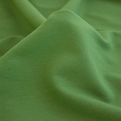Bamboo & Cotton Stretch Fleece - Leaf Green