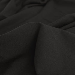 100% Organic Cotton Jersey Knit - Black