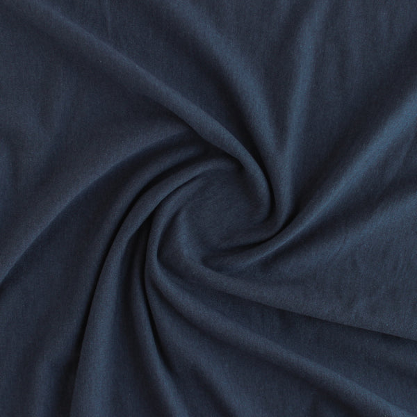 Tencel & Organic Cotton French Terry - Navy