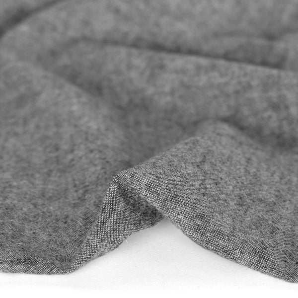 Hemp & Organic Cotton Chambray - Grey