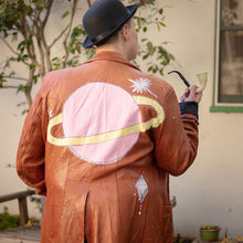 Load image into Gallery viewer, HAND-PAINTED SATURN JACKET