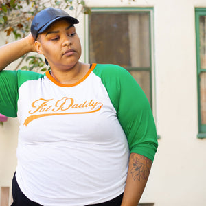 FAT DADDY BASEBALL TEE