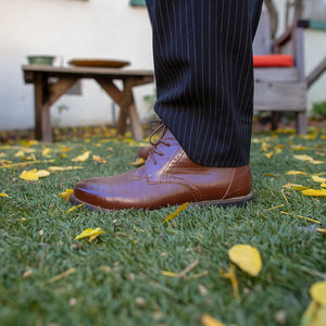 DARK BROWN BARRISTER'S BOOT