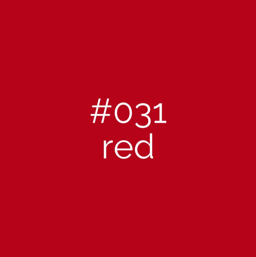 Oracal 651 Red 031 | Vinyl glans rood