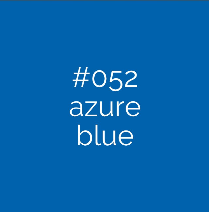 052 Azure Blue Oracal 651