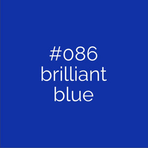 Oracal 641 Brilliant Blue 086