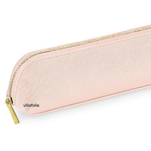 Boutique Mini Accessory Case Pink | Lederlook etui roze