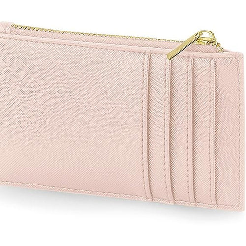 Boutique Card Holder Pink | Lederlook pasjeshouder roze