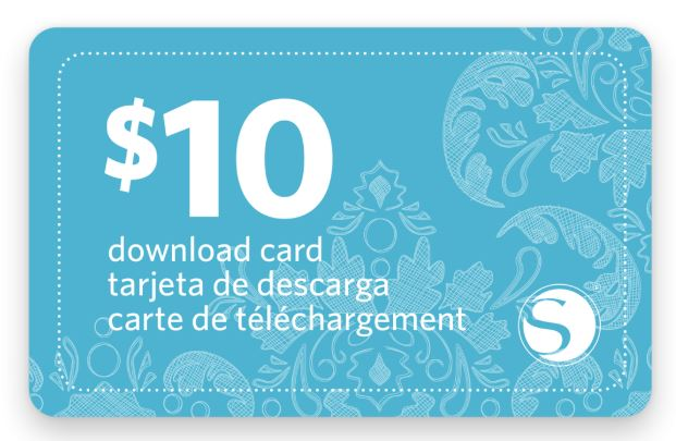 Silhouette Online Store - Downloadcode $10,-