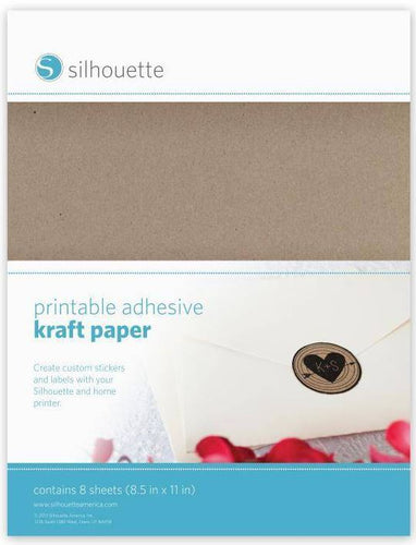 Printable Kraft Sticker Paper