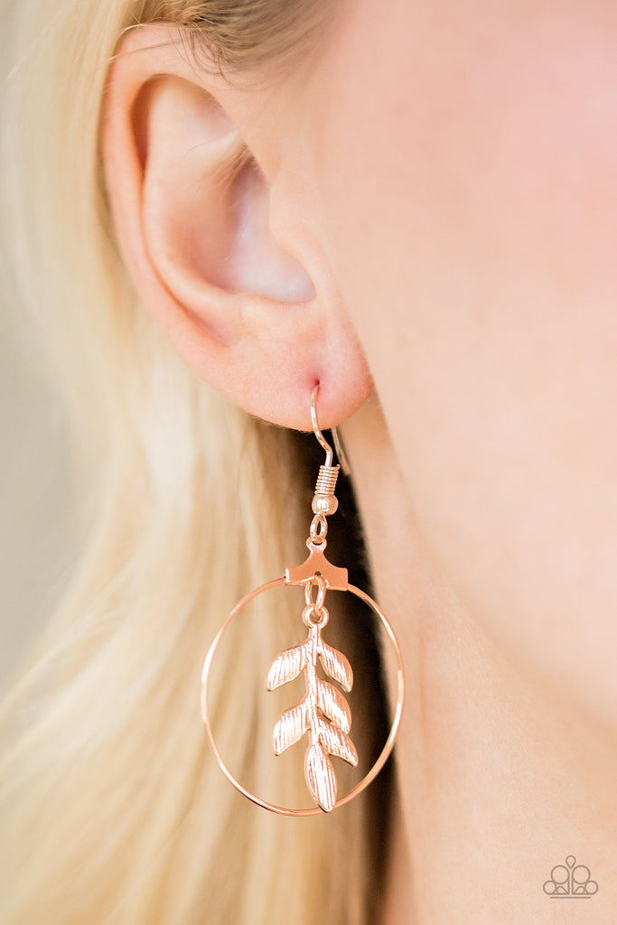 Paparazzi Branching Into Boho - Rose Gold