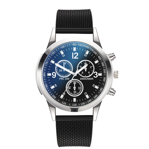 Royal Blue Black Quartz Watch - StyleBest Australia