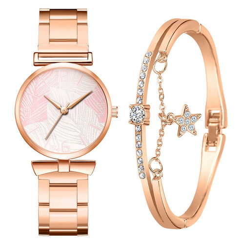 Mirabella Pink Watch and Bangle - StyleBest Australia