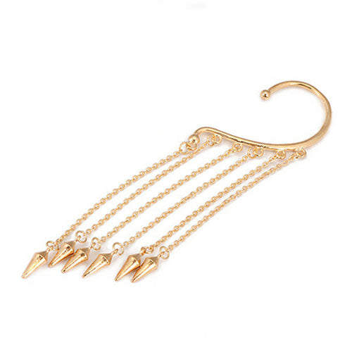 Hanging Dangle Spikes Ear Cuff - StyleBest Australia