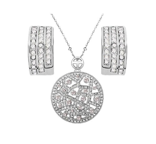 Mosaic Joy Necklace & Earrings Set - StyleBest Australia