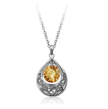 Princess Love Crystal Pendant Necklace - StyleBest Australia