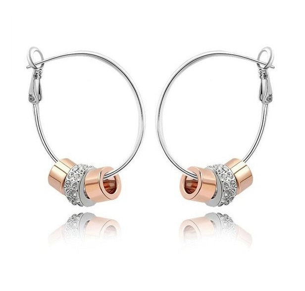 Trinity triple cylindrical earrings - StyleBest Australia