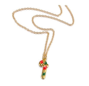 Christmas Candy Cane Necklace - StyleBest Australia