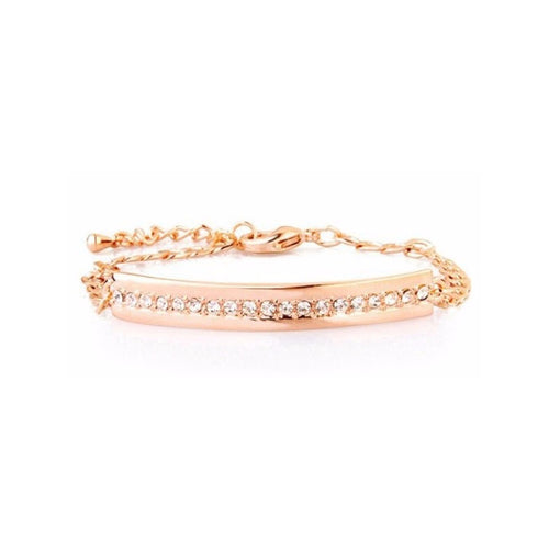 Gold-plated Crystals Wrap Bracelet - StyleBest Australia