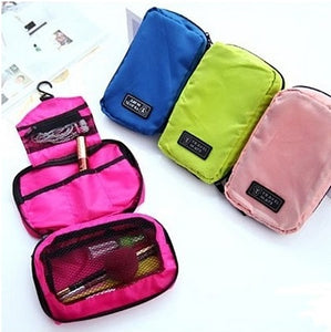 Handy Storage Three-Compartments Toiletries Bag - StyleBest Australia