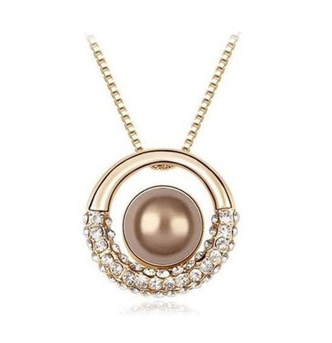 Pearl Halo Necklace - StyleBest Australia
