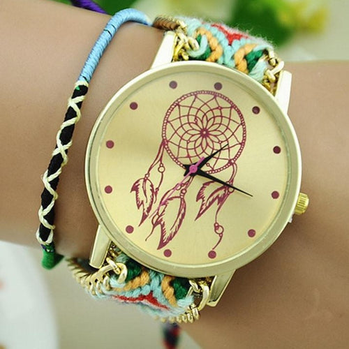 Dream Catcher Braided Bracelet Watch - Watch your style